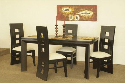 Comedores modernos comedores en madera comedores for Imagenes de comedores de madera