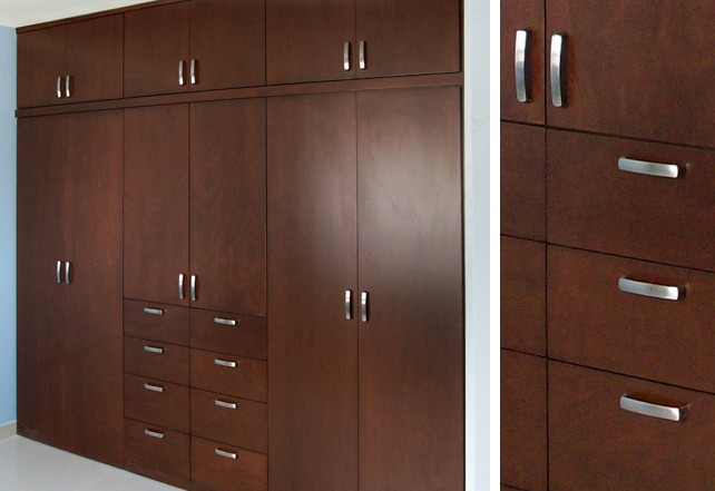 Closets de madera closets modernos bogot closets madera for Closet en madera para habitaciones