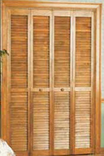 Louvered Folding Doors
