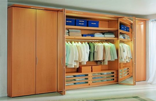 closets de madera closets modernos bogot closets madera On decoracion closet en madera